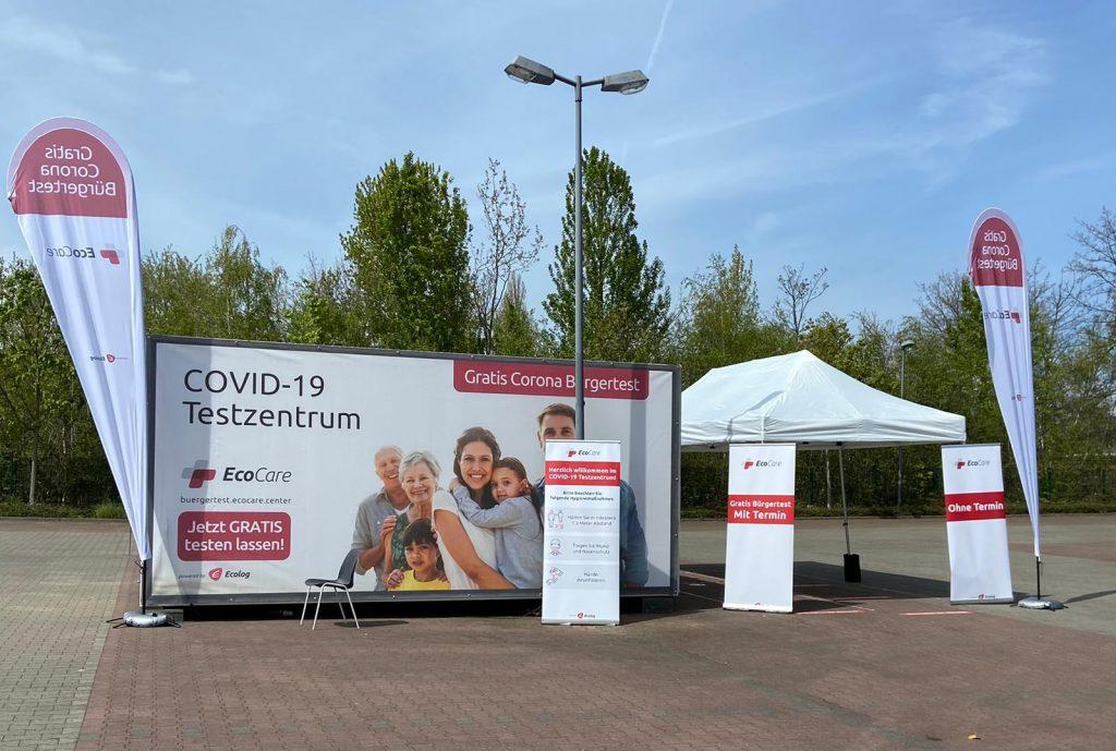 COVID-19 Testzentrum in Betrieb | Dr. med. Michaela Montanari