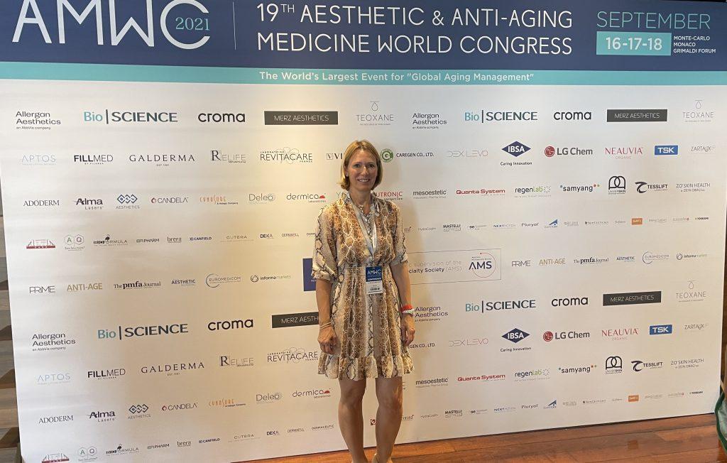 19th Anti-Aging Medicine World Congress, Monaco Dr. med. Michaela Montanari